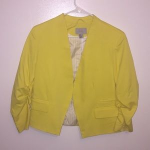 Stylish yellow blazer